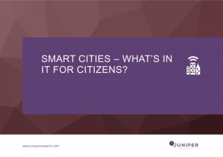 Оценка выгоды для граждан от перехода к умным городам